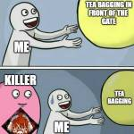 No tea bagging