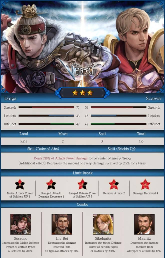 VERSUS : REALM WAR: Update Notice - [07/24] New Commanders Appeared! image 9