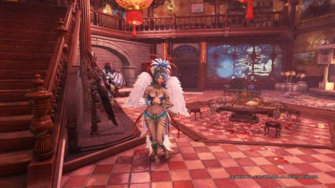 Monster Hunter: General - Finally got the festival layered armor and the naked layered armor image 2