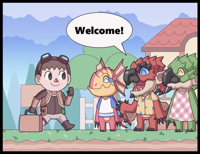 Monster Hunter: General - Monster Crossing: New Horizons image 1