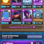 This is my new deck looking to make changes to it I'm close to master one so send me your decks that