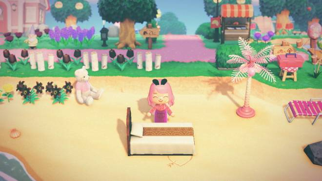 Animal Crossing: Posts - Luna's bed image 2