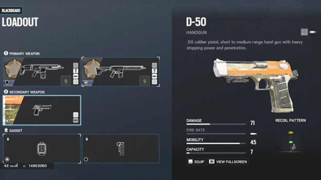 Rainbow Six: Guides - Guide to playing 'Blackbeard' in 'Border'  image 4