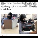 Taser the teacher