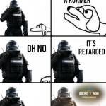 A retared