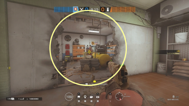 Rainbow Six: Guides - Guide to playing 'Thermite' in 'Outback'  image 44