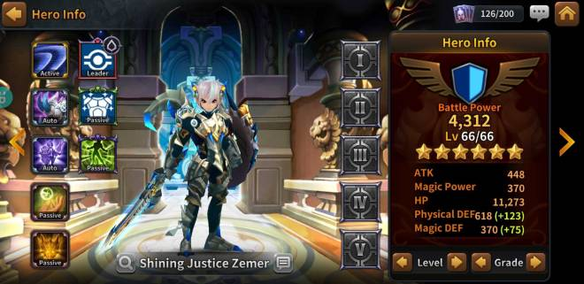 Along with the Gods: Knights of the Dawn: Tips and Guides - Hero Spotlight: Zemer image 8