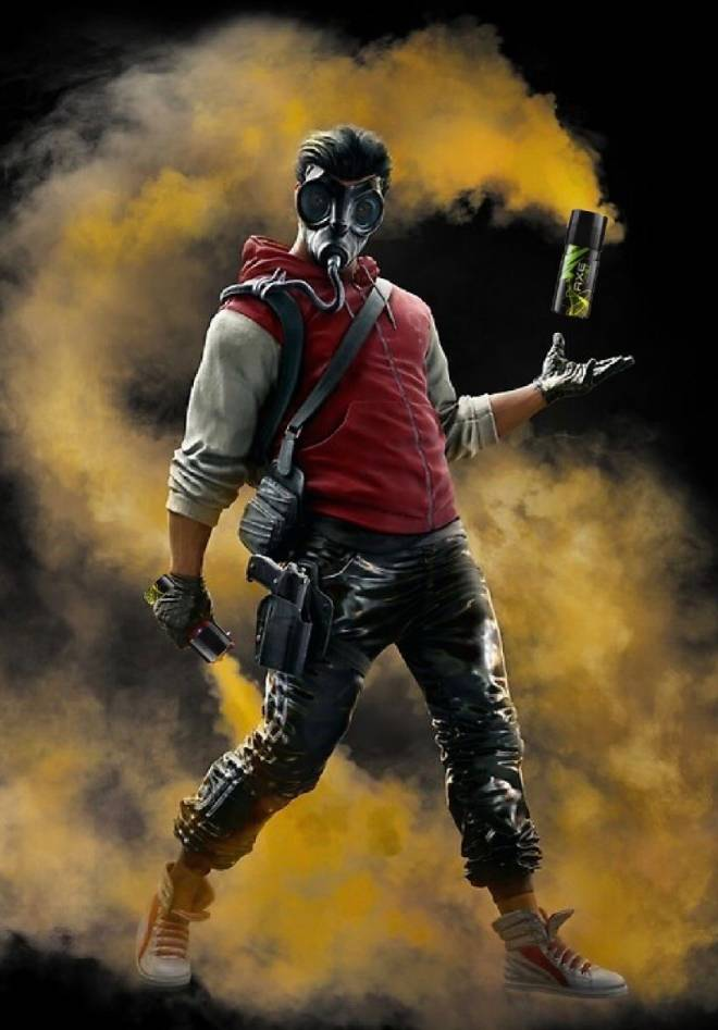 Rainbow Six: General - Even Smoke knows what Axe body spray should be used for 🤢 image 1