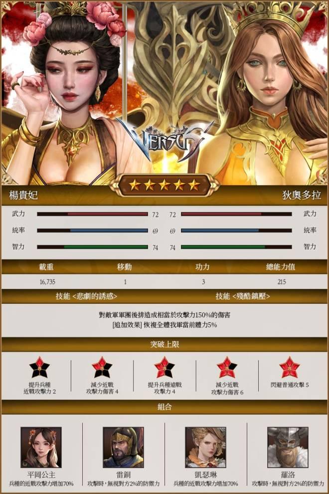 VERSUS : REALM WAR [TW]: Update Notice - 【更新】8月7日新將帥登場! image 3