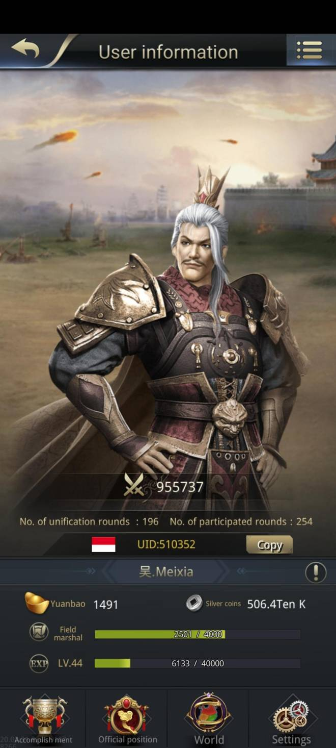 Three Kingdoms RESIZING: Limited General Board [Yuan Shao], END - Meixia /ch 5 / 510352 image 2