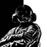 Jäger black and White