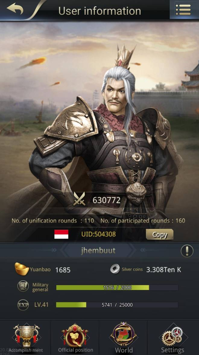 Three Kingdoms RESIZING: Limited General Board [Yuan Shao], END - Jhembuut / ch 5 / 504308 / hello my lord image 1