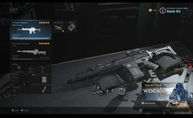 Call of Duty: Event - Here's my class for the 4000 Cod points image 2