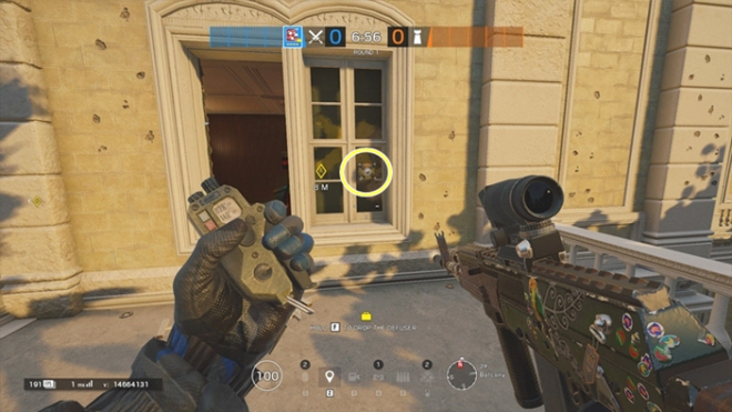 Rainbow Six: Guides - Guide to playing 'Fuze' in 'Consulate' image 16