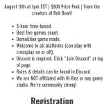 Need team ASAP for $300 Tournament. Need squad before Saturday