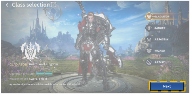Icarus M: Riders of Icarus: Guide - How to create a Character image 6
