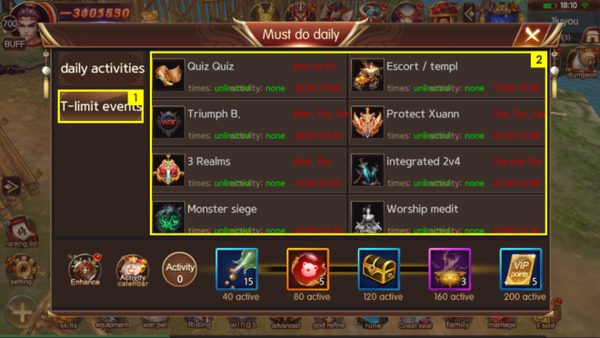 ATK CHALLENGER: Game Guide - [Guide] Must do daily image 4