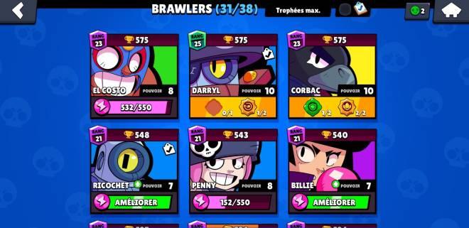 Brawl Stars: Club Recruiting - Objectif: monter tout mes brawlers à 750 image 1