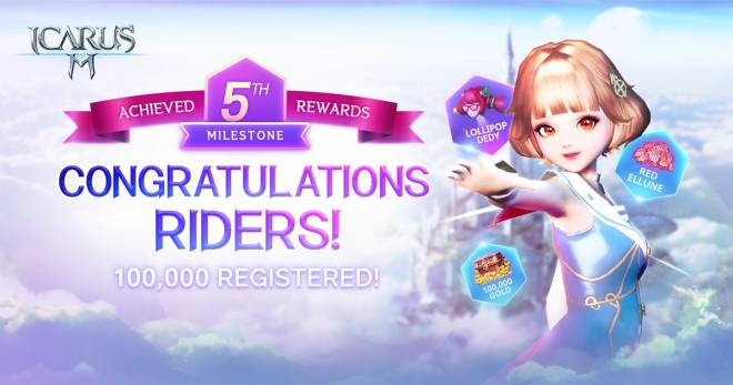 Icarus M: Riders of Icarus: Notice - 100,000 Pre-registered Users!  image 7