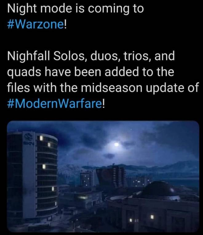 Call of Duty: General - Upcoming leaked #Warzone game modes:  image 2