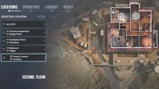 Rainbow Six: Guides - Guide to playing 'Mute' in 'Border'  image 2