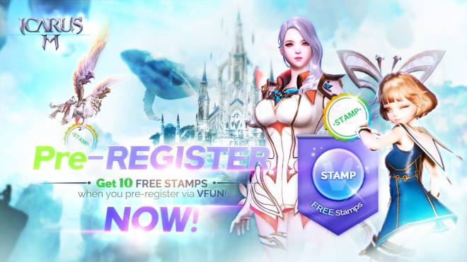 Icarus M: Riders of Icarus: Event - Pre-register on VFUN and Get Stamps for FREE! image 1