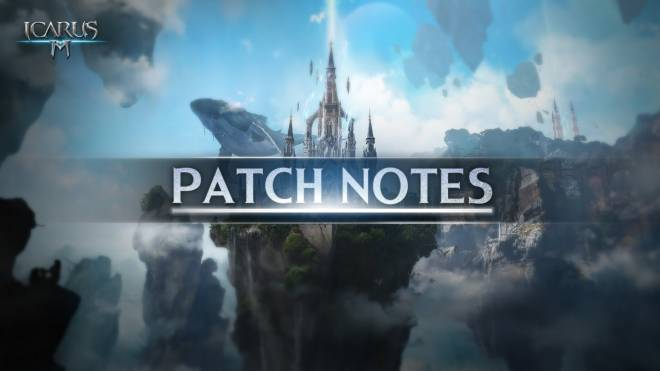 Icarus M: Riders of Icarus: Notice - CBT Patch Notes image 1