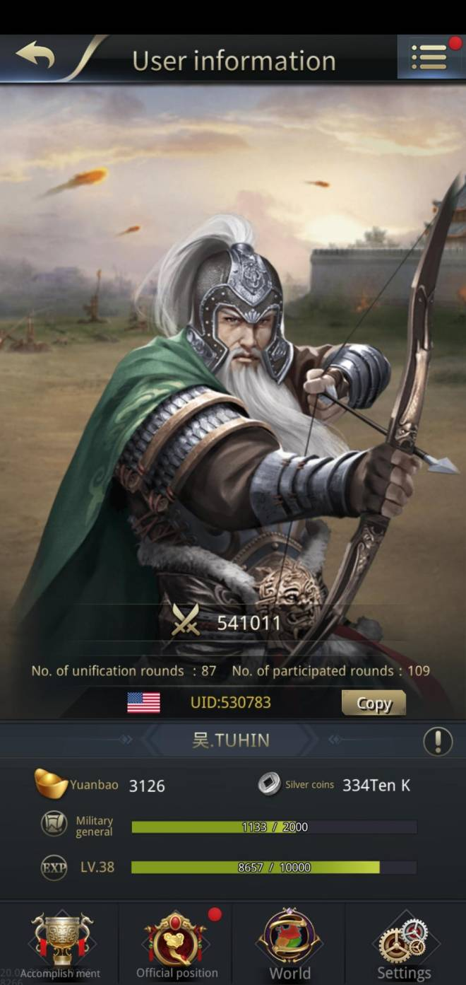 Three Kingdoms RESIZING: Limited General Board [Huang Zhong], END - Chance of a lifetime. image 2