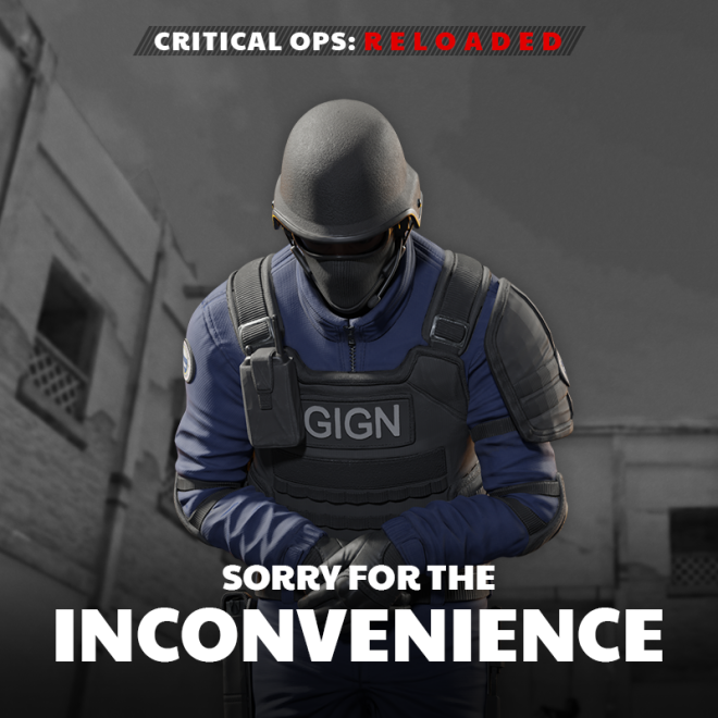 ENG Critical Ops: Reloaded: Announcements - [Bugfix] Tutorial Reward Bug and Resolution image 1