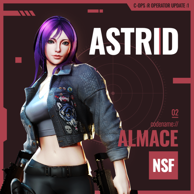 ENG Critical Ops: Reloaded: Announcements - [Operator Update #1] Joy & Astrid join the battle! image 1