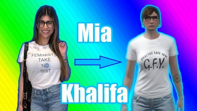GTA: Promotions - How To Make MIA KHALIFA On GTA 5 image 3