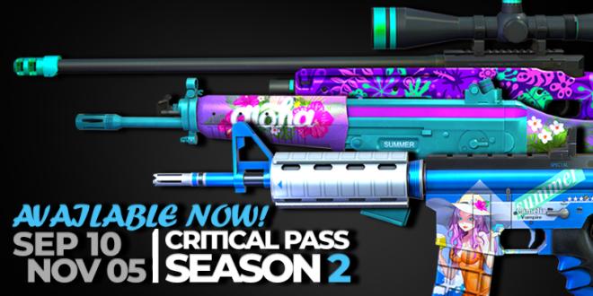 ENG Critical Ops: Reloaded: Announcements - [Season Update] Ranked Match & Critical Pass Season 2 has officially begun.  image 3