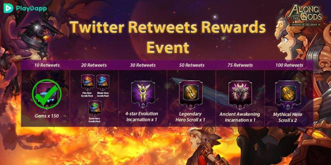 Along with the Gods: Knights of the Dawn: Events - Google Play Launch Events Progress Update image 6