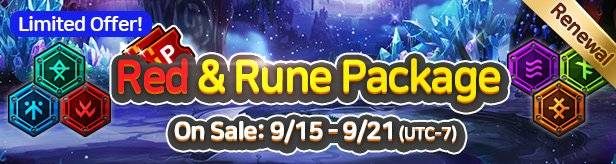 60 Seconds Hero: Idle RPG: Events - [Limited Offer] Red & Rune Package 9/15(Tue) – 9/21(Mon) image 22