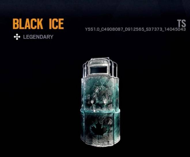 Rainbow Six: General - What do you think about the black ice?  Like=you love it Dislike=you don't love it image 1