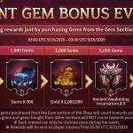 Giant Gem Bonus Event is Back with New Rewards!