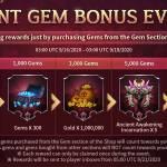 Giant Gem Bonus Event is Back with New Rewards!