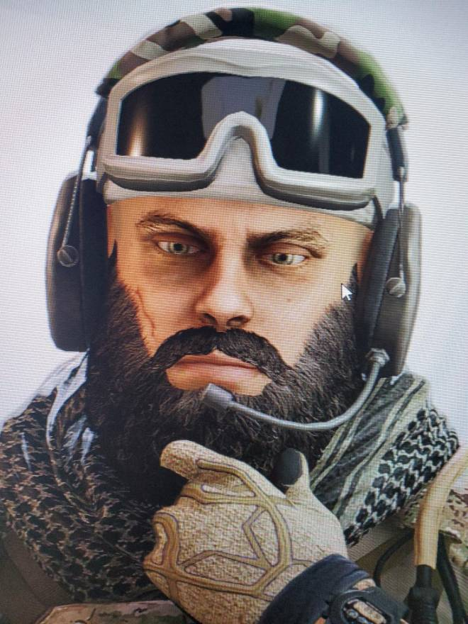 Rainbow Six: General - Am I the only one that thinks is eyes are fucked lol image 1