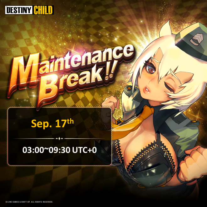 DESTINY CHILD: PAST NEWS - [DONE] Sep. 17 Maintenance Notice image 3