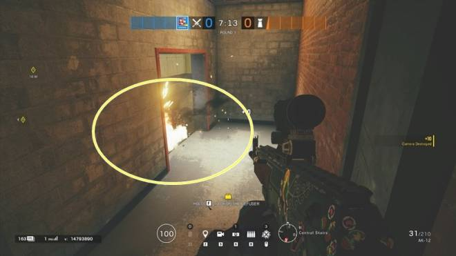 "Rainbow Six: Guides - Guide to playing ""Fuze"" on ""Club House"" image 54"