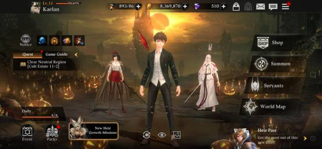 HEIR OF LIGHT: Show Off Your Collaboration Servant - Showing Off the Collab Servants I got.... image 1