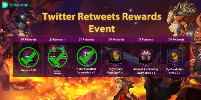 Along with the Gods: Knights of the Dawn: Events - Google Play Launch Events Progress Update 2 image 6