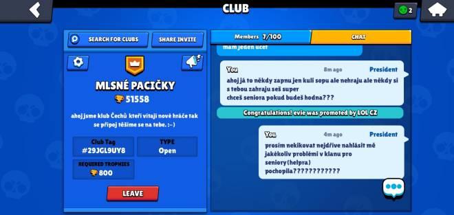 Brawl Stars: Club Recruiting - Jone my clan image 1