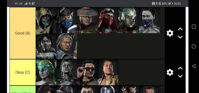 Mortal Kombat: General - My Mk11 teir list image 3