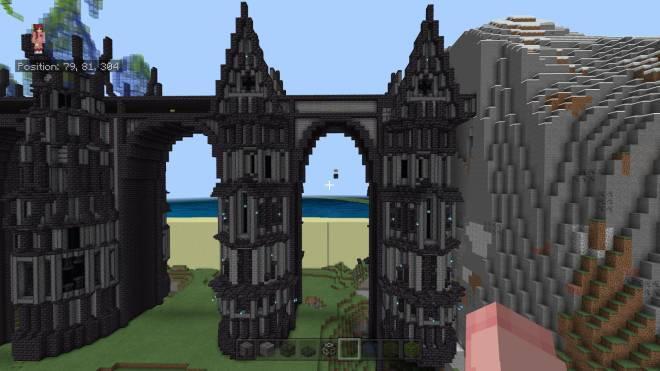 Minecraft: General - Close ups of the Bridge Towers  image 1