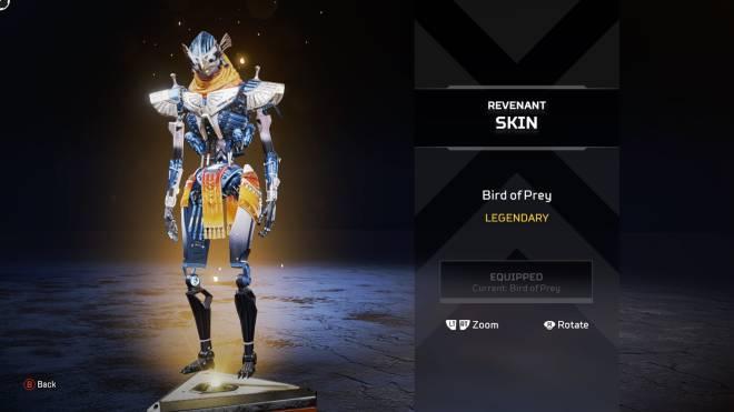 "Apex Legends: General - 5th legendary - ""Bird of Prey"" - Revenant skin image 1"