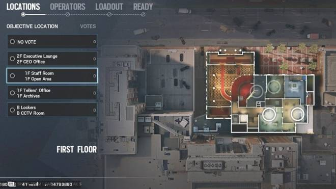 "Rainbow Six: Guides - Guide to playing ""Rook"" in ""Bank"" image 2"
