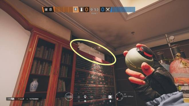 "Rainbow Six: Guides - Guide to playing ""Rook"" in ""Bank"" image 10"
