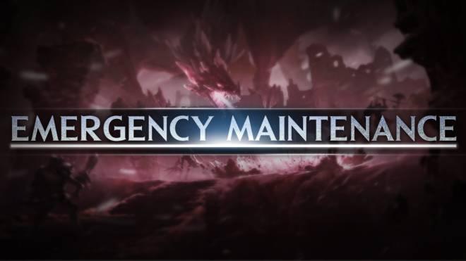 Icarus M: Riders of Icarus: Notice - Emergency Maintenance image 1