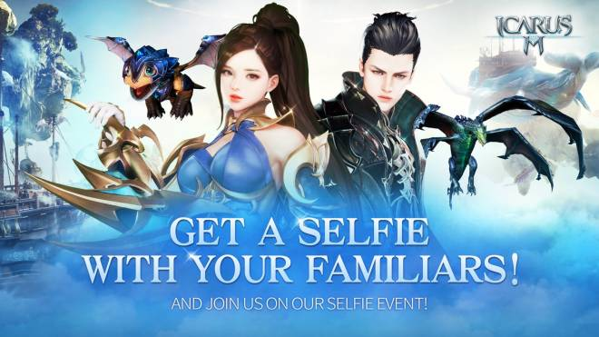 Icarus M: Riders of Icarus: Event - Get a selfie with you familiars! image 1